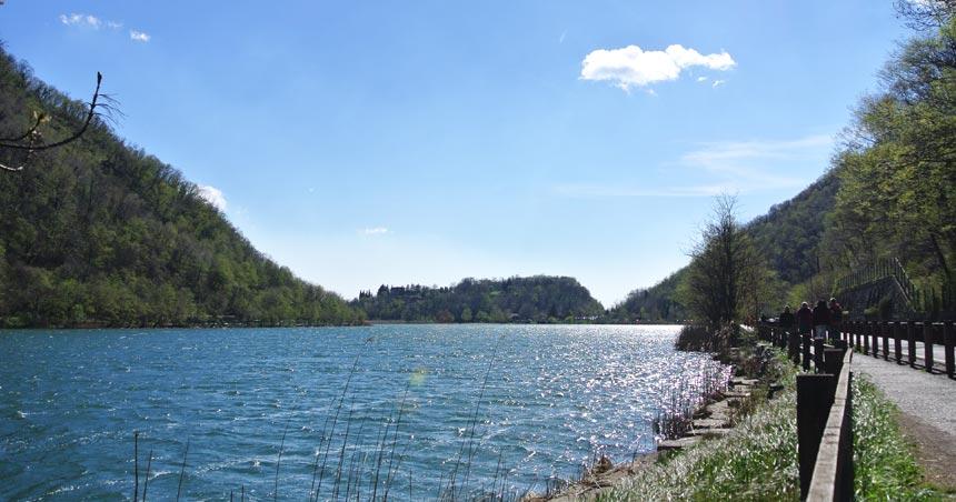 Lago Segrino – ciclopedonale