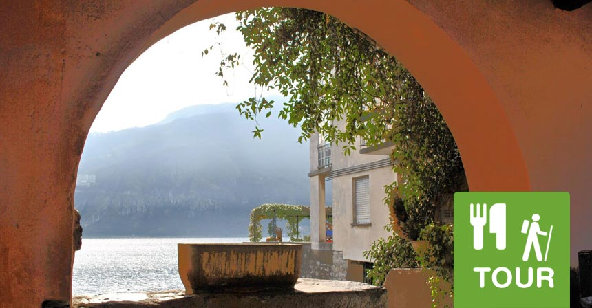 Lago di Como Mandello walking tour