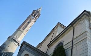 Lecco campanile basilica San Nicolò