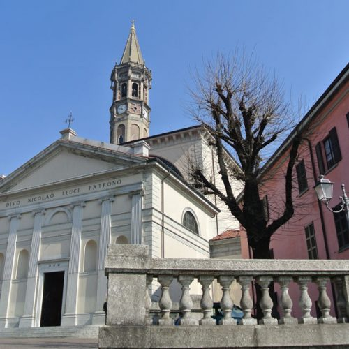 Bell tower of Basilica San Nicolò