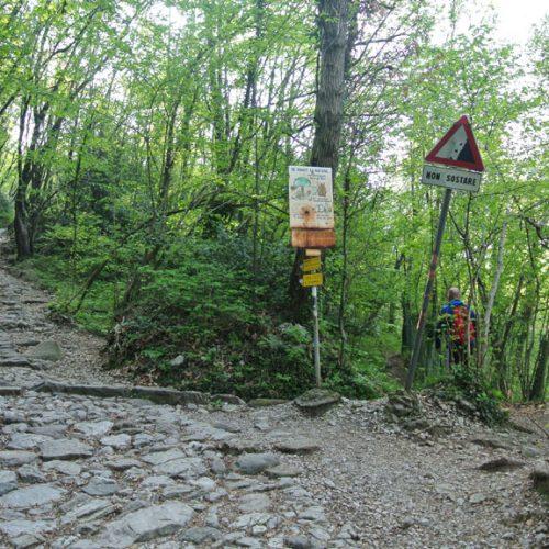 Bivio sentiero per Campo de Boi