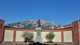 Lecco monumento Antonio Stoppani