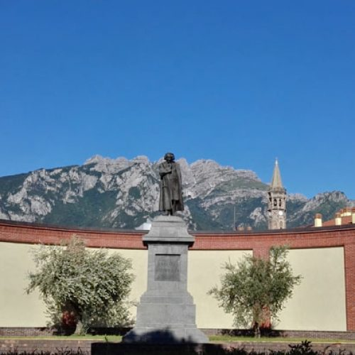 Lecco Monument to Antonio Stoppani