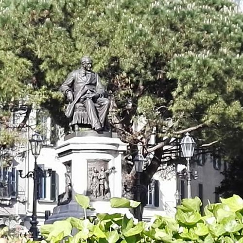 Monument to Alessandro Manzoni