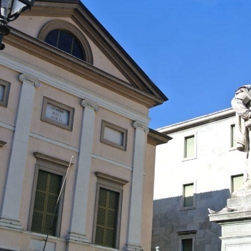 Lecco Monumento Garibaldi