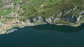 Ciclovia del lago di Lecco sponda orientale