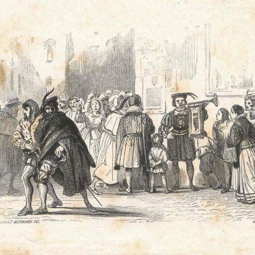 Tavola di Francesco Gonin per I Promessi Sposi edizione Quarantana