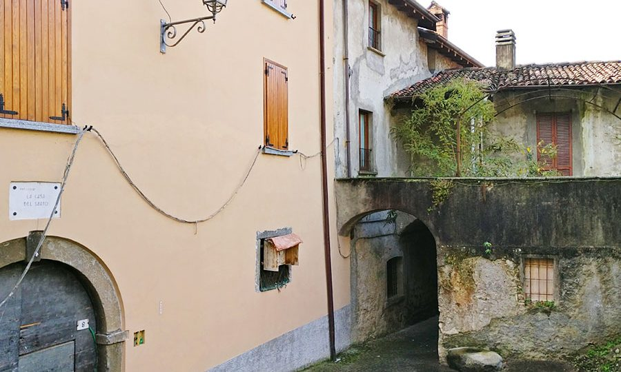 The tailor's house in Lecco