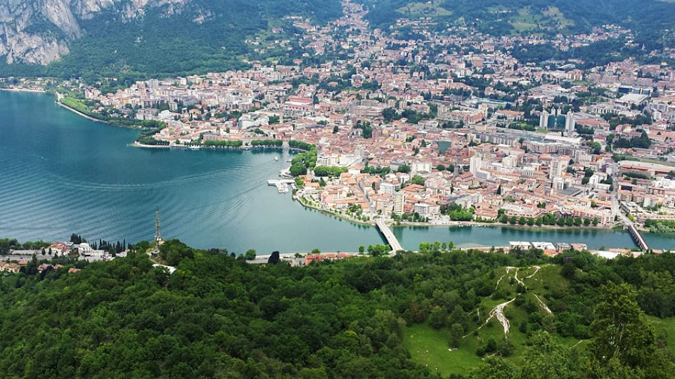 That branch of the lake of Como
