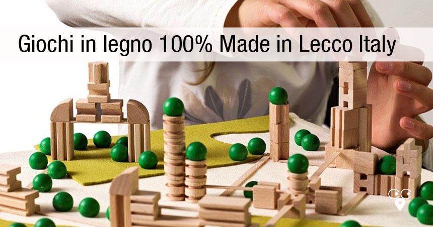giocattoli in legno per bambini produzione lombardia