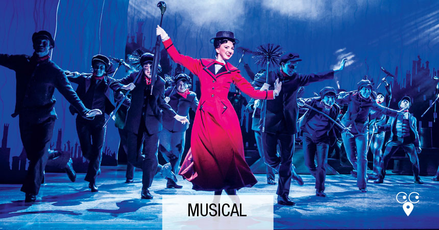 Mary Poppins Musical a Milano