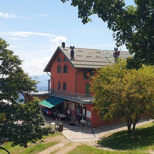 Sentiero Anello del Muggio - Rifugio Capanna Vittoria