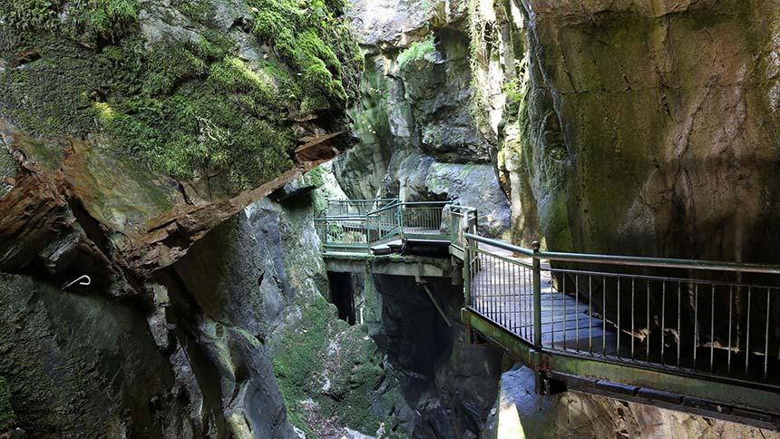 Bellano's ravine