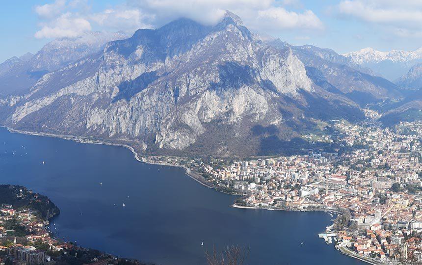 Panorama dal monte Barro