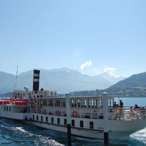 Piroscafo Concordia lago di Como