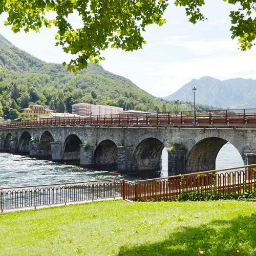 Azzone Visconti Bridge - Lecco - Italy