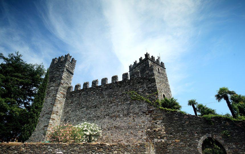 Castello di Rezzonico lago di Como