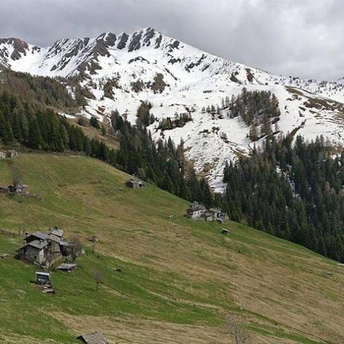 Sentiero per il Rifugio Alpe Piazza - Baitridana