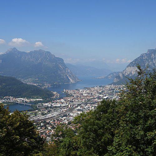 Panorama dal rifugio Camposecco