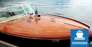 Riva motorboat private tour on Lake Como