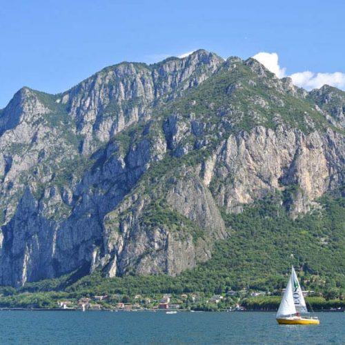 Lago di Lecco con Monte San Martino