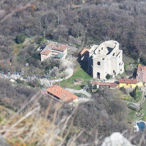 San Michele vista dal Monte Barro