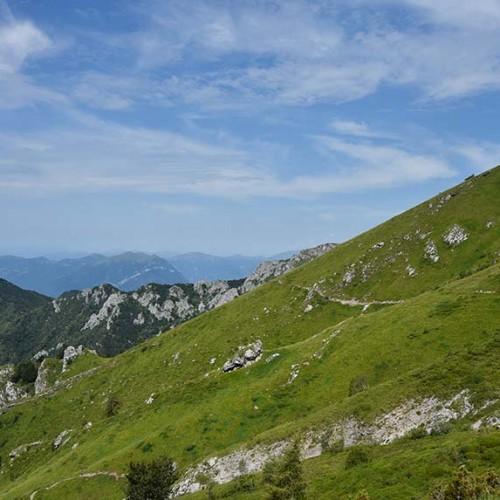 Sentiero dal Cainallo al Rifugio Bietti-Buzzi