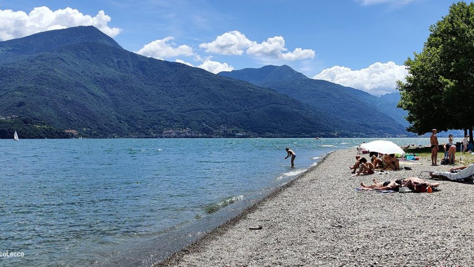 Spiaggia di Dongo - Lago di Como