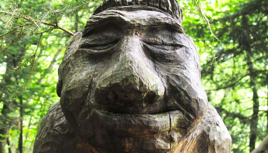 Corni di Canzo e lo spirito del bosco