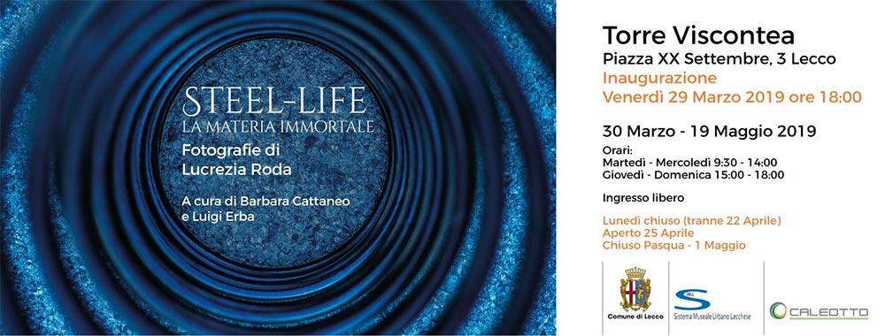 Steel-Life. La materia immortale di Lucrezia Roda