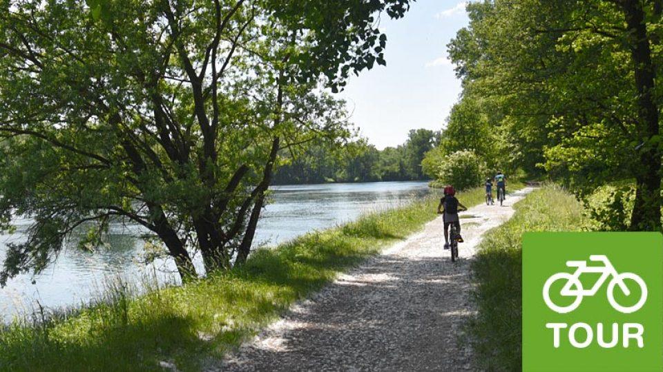Tour sull'Adda in biciclett