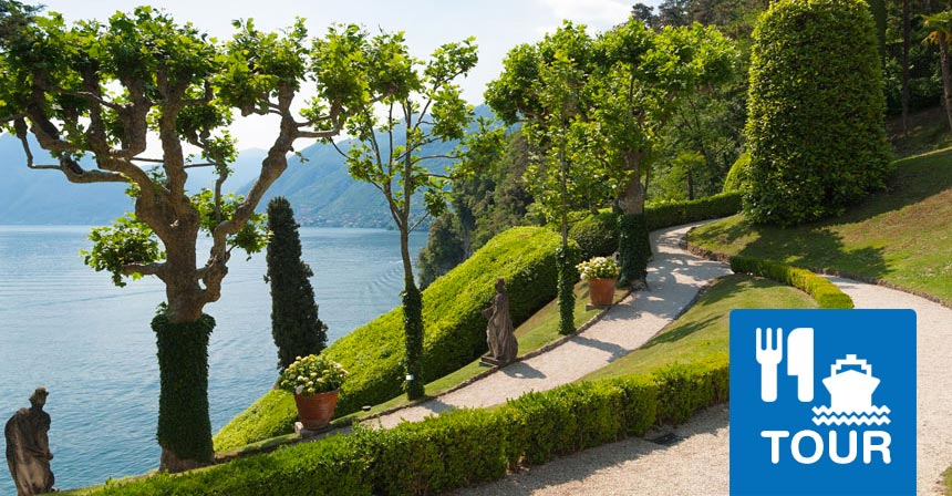 Lake Como food tour villas and hidden places