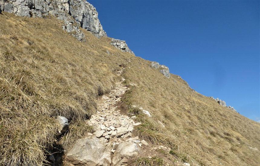 trekking lombardia lecco grignetta sentiero delle capre