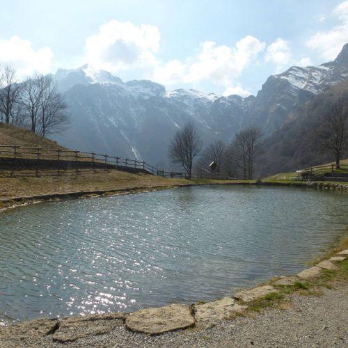 Valsassina - Alpe Cova laghetto