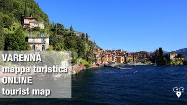 mappa turistica Varenna