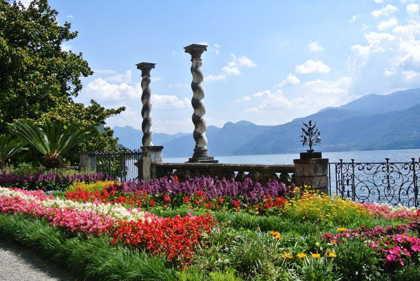 Villa monastero varenna lago di como giardino botanico for Giardino lecco