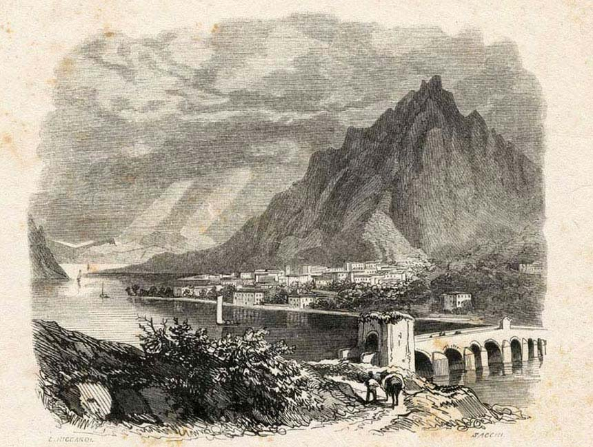 Lecco: that branch of the lake of Como