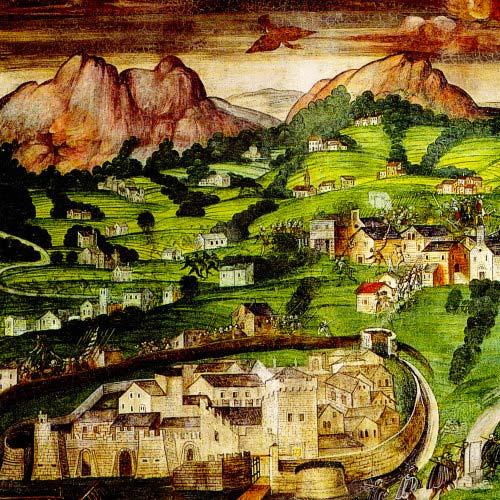 Castello del borgo di Lecco