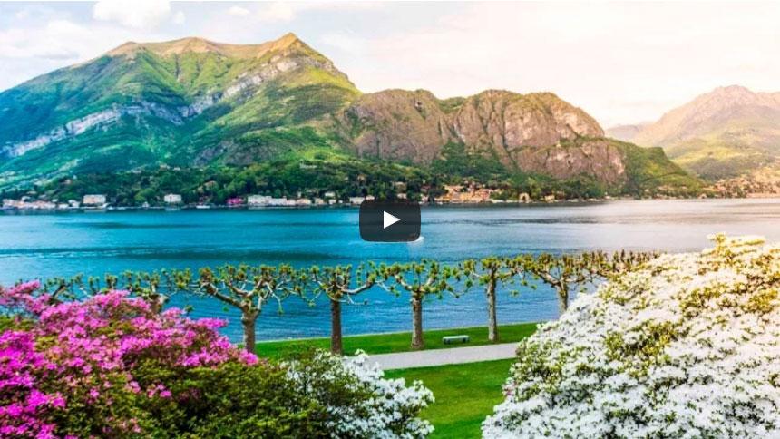 I giardini di villa melzi a bellagio sul lago di como - Giardini di villa melzi ...
