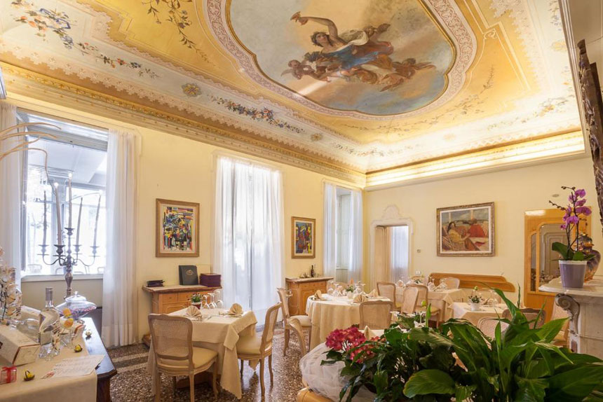 Hotels in Lecco Italy: Villa Giulia on the east side of Lake Como
