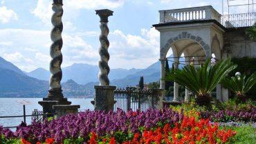 Villa Monastero gardens Varenna