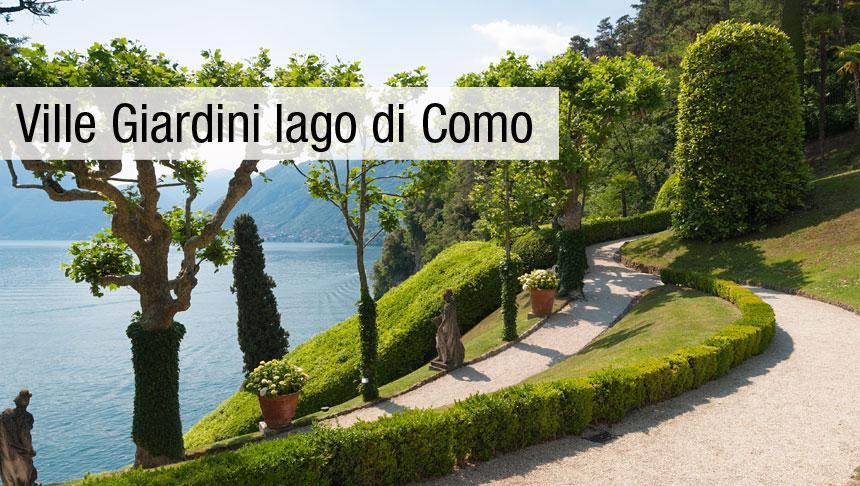 Ville e giardini del lago di Como