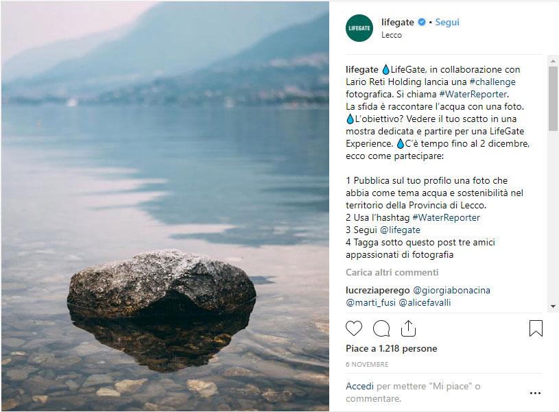 water reporter instagram