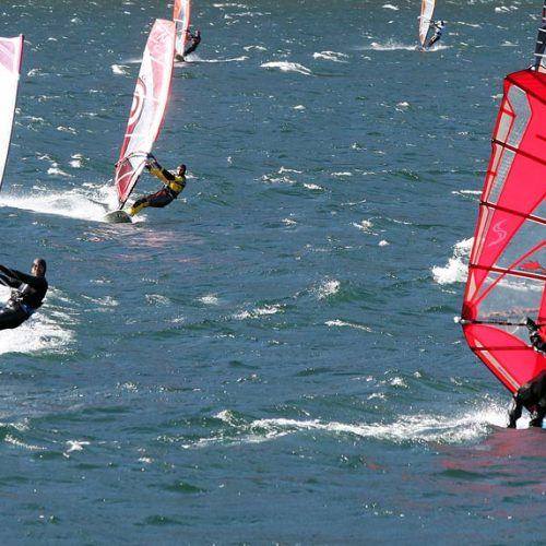 windsurf sul lago Lecco